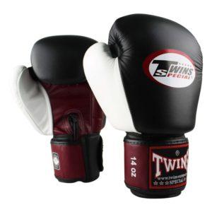 Twins BGVL 4 (kick)bokshandschoenen Rood-Zwart-Wit